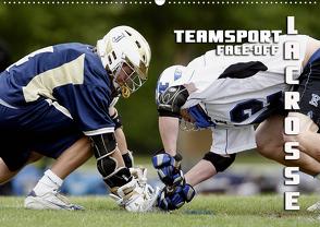 Teamsport Lacrosse – Face-off (Wandkalender 2021 DIN A2 quer) von Bleicher,  Renate