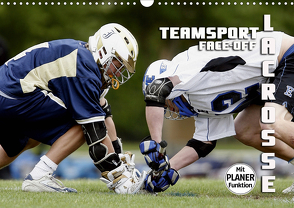 Teamsport Lacrosse – Face-off (Wandkalender 2021 DIN A3 quer) von Bleicher,  Renate