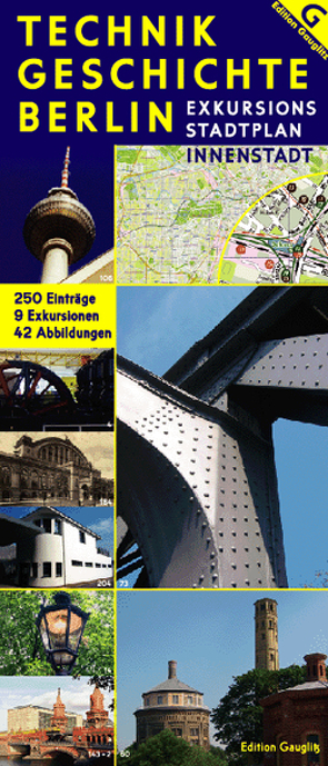 Technikgeschichte Berlin – Exkursions-Stadtplan Innenstadt