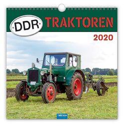 """Technikkalender """"DDR-Traktoren"""" 2020 von Paulitz,  Udo"""