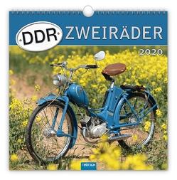 """Technikkalender """"DDR-Zweiräder"""" 2020"""