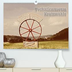 Technikmuseum Kratzmühle (Premium, hochwertiger DIN A2 Wandkalender 2020, Kunstdruck in Hochglanz) von Portenhauser,  Ralph