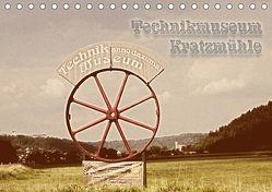 Technikmuseum Kratzmühle (Tischkalender 2018 DIN A5 quer) von Portenhauser,  Ralph