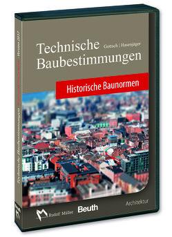 Technische Baubestimmungen – Historische Baunormen – DVD Mehrplatzlizenz