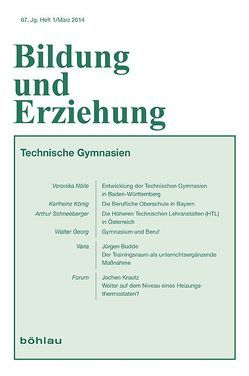 Technische Gymnasien von Georg,  Walter, Heinemann,  Manfred