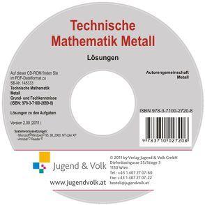 Technische Mathematik Metall – Grund- und Fachkenntnisse von Autorengemeinschaft Metall