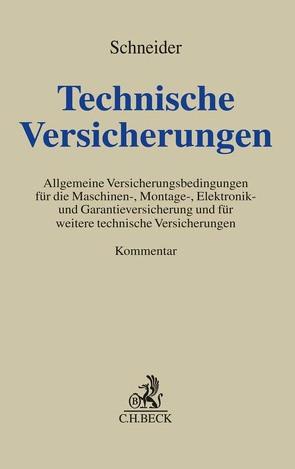 Technische Versicherungen von Droll,  Patrick, Hoffmann,  Thomas, Kemperdiek,  Jan Lukas, Niemöller,  Stefan, Schneider,  Wolfgang