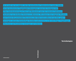 Technökologien von Brunner,  Christoph, Deseriis,  Marco, Kämpf,  Katrin M., Kuster,  Brigitta, Minichbauer,  Raimund, Mulvaney,  Kelly, Portanova,  Stamatia, Raunig,  Gerald, Rogers,  Christina, Ruiz,  Álvaro, Sánchez Cedillo,  Rául
