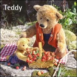 Teddy 2020 – Broschürenkalender – Wandkalender – mit herausnehmbarem Poster – Format 30 x 30 cm von DUMONT Kalenderverlag