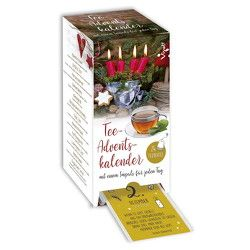 Tee-Adventskalender mit 24Teesorten
