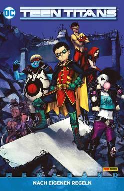 Teen Titans Megaband von Benjamin,  Ryan, Chang,  Bernard, Dubbar,  Max, Faßbender,  Jörg, Glass,  Adam, Luis,  Jose, Rocha,  Robson
