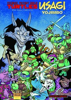 Teenage Mutant Ninja Turtles / Usagi Yojimbo von Nielsen,  Jens R, Sakai,  Stan