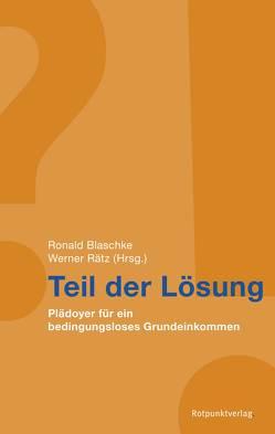 Teil der Lösung von Blaschke,  Ronald, Rätz,  Werner