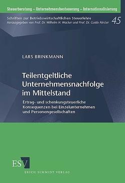 Teilentgeltliche Unternehmensnachfolge im Mittelstand von Brinkmann,  Lars