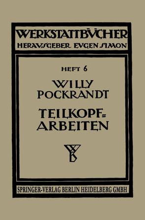 Teilkopfarbeiten von Pockrandt,  W.