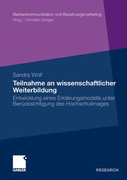 Teilnahme an wissenschaftlicher Weiterbildung von Wolf,  Sandra