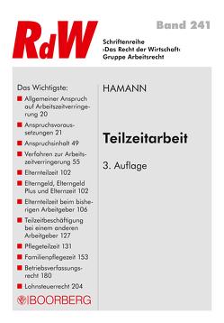 Teilzeitarbeit von Hamann,  Wolfgang
