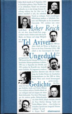 Tel Aviver Ungeduld von Böhmer,  Lydia, Böhmer,  Paulus, Reich,  Asher