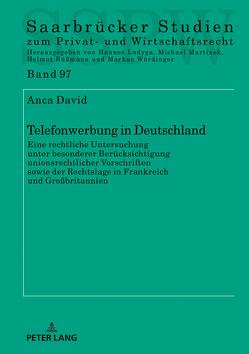 Telefonwerbung in Deutschland von David,  Anca