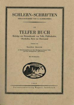 Telfer Buch von Thaler,  Walter