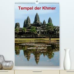 Tempel der Khmer (Premium, hochwertiger DIN A2 Wandkalender 2020, Kunstdruck in Hochglanz) von Rudolf Blank,  Dr.