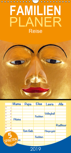 Tempel von Bagan – Familienplaner hoch (Wandkalender 2019 , 21 cm x 45 cm, hoch) von Ristl,  Martin