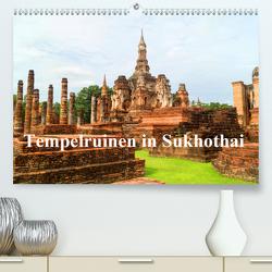 Tempelruinen in Sukhothai (Premium, hochwertiger DIN A2 Wandkalender 2020, Kunstdruck in Hochglanz) von Paul - Babett's Bildergalerie,  Babett