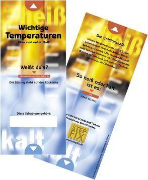 Temperatur-Schablone, 10er VPE