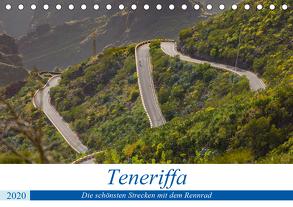 Teneriffa: Die schönsten Strecken mit dem Rennrad (Tischkalender 2020 DIN A5 quer) von Poul,  Herbert
