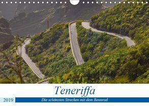 Teneriffa: Die schönsten Strecken mit dem Rennrad (Wandkalender 2019 DIN A4 quer) von Poul,  Herbert