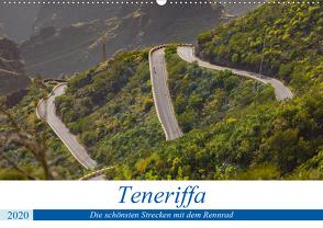 Teneriffa: Die schönsten Strecken mit dem Rennrad (Wandkalender 2020 DIN A2 quer) von Poul,  Herbert