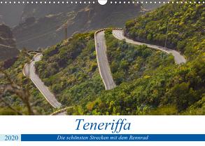 Teneriffa: Die schönsten Strecken mit dem Rennrad (Wandkalender 2020 DIN A3 quer) von Poul,  Herbert
