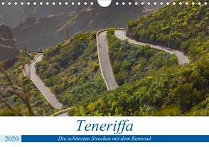 Teneriffa: Die schönsten Strecken mit dem Rennrad (Wandkalender 2020 DIN A4 quer) von Poul,  Herbert