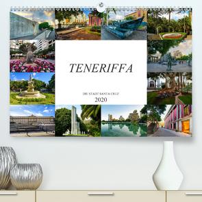 Teneriffa – Die Stadt Santa Cruz (Premium, hochwertiger DIN A2 Wandkalender 2020, Kunstdruck in Hochglanz) von Meutzner,  Dirk