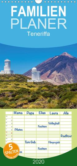 Teneriffa – Familienplaner hoch (Wandkalender 2020 , 21 cm x 45 cm, hoch) von Ködder,  Rico