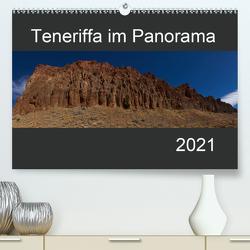 Teneriffa im Panorama (Premium, hochwertiger DIN A2 Wandkalender 2021, Kunstdruck in Hochglanz) von Linden,  Paul