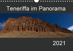 Teneriffa im Panorama (Wandkalender 2021 DIN A4 quer) von Linden,  Paul