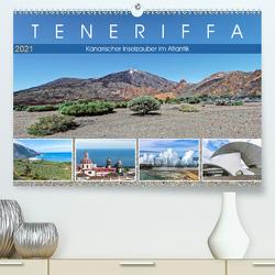 TENERIFFA Kanarischer Inselzauber im Atlantik (Premium, hochwertiger DIN A2 Wandkalender 2021, Kunstdruck in Hochglanz) von Meyer,  Dieter
