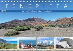 TENERIFFA Kanarischer Inselzauber im Atlantik (Tischkalender 2021 DIN A5 quer) von Meyer,  Dieter