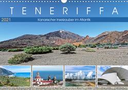 TENERIFFA Kanarischer Inselzauber im Atlantik (Wandkalender 2021 DIN A3 quer) von Meyer,  Dieter