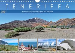 TENERIFFA Kanarischer Inselzauber im Atlantik (Wandkalender 2021 DIN A4 quer) von Meyer,  Dieter