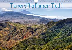 Teneriffa Planer Teil 1 (Wandkalender 2021 DIN A4 quer) von Reschke,  Uwe