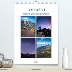 Teneriffa – Wolken, Sterne und Vulkane (Premium, hochwertiger DIN A2 Wandkalender 2021, Kunstdruck in Hochglanz) von Wasilewski,  Martin