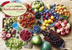 teNeues Küchenkalender 2021 – Wand-Kalender – Broschüren-Kalender – 42×29 – 42×58 göffnet – Küchen-Kalender – Rezepte