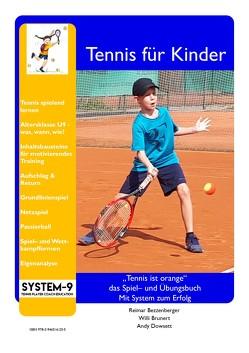 Tennis für Kinder von Bezzenberger,  Reimar, Brunert,  Willi