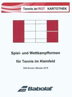 "Tennis ist rot – Training ""To-Go"" von Brunert,  Willi"