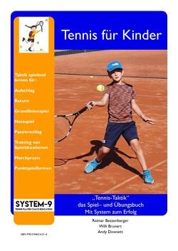 Tennis Taktik von Bezzenberger,  Reimar, Brunert,  Willi