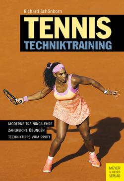 Tennis Techniktraining von Schönborn,  Richard