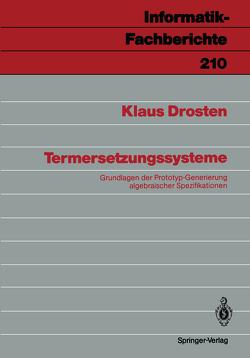 Termersetzungssysteme von Drosten,  Klaus