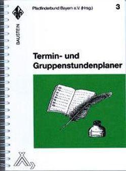 Termin- und Gruppenstundenplaner von Joubert,  Pierre, Müller,  Jockl